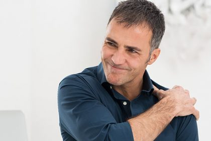 Poor posture can lead to shoulder impingement